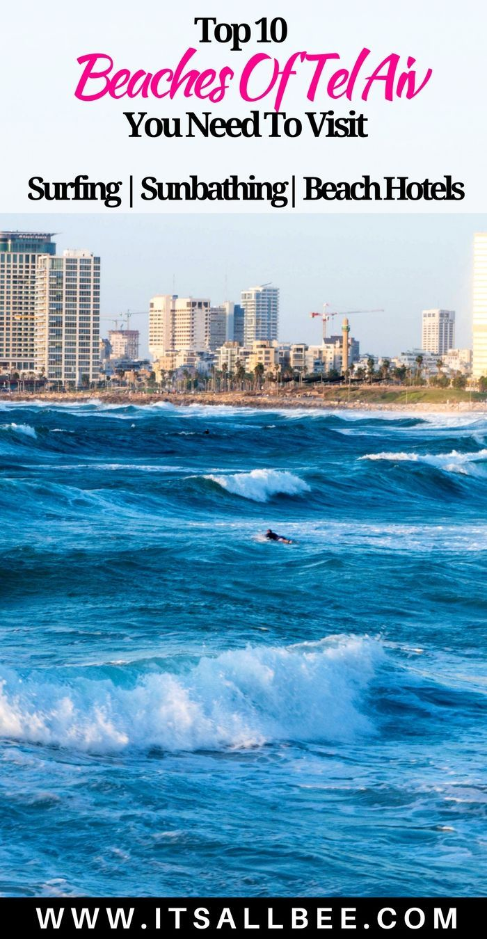 Best Beaches of Tel Aviv Israel To Check Out & Where To