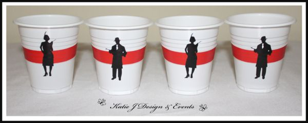 Cup Stickers #1920s #Gangster #Fapper #18th #21st #30th #HensNight #BacheloretteParty #ladies #PartyDecorations #Heels #Martini #GirlsNightOut #Hens #Night #Bachelorette #Divorce #Birthday #Bunting #Party #Decorations #Ideas #Banners #Cupcakes #WallDisplay #Wine #Labels #PartyBags #Invites #KatieJDesignAndEvents #Personalised #Creative