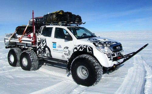 Arctic Trucks Toyota 6x6 - US Trailer can repair used trailers in any condition to or from you. Contact USTrailer and let us sell your trailer. Click to http://USTrailer.com or Call 816-795-8484