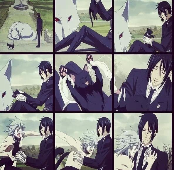 Black Butler ~~ Pluto needed all the love he could get. Even he knew life was short...
