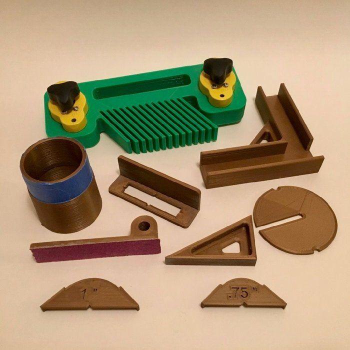 3D Printed Gadgets for Woodworking Woodworking, Wooden