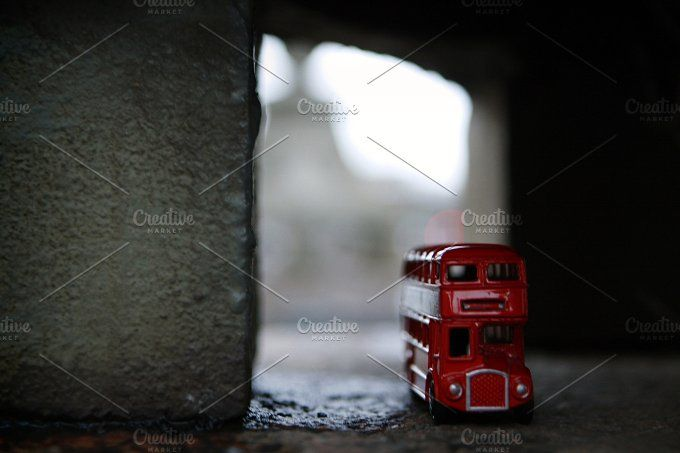 London doubledecker by tabby on @creativemarket