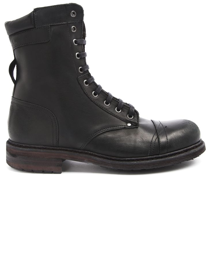 DIESEL > Cassidy Black Boots