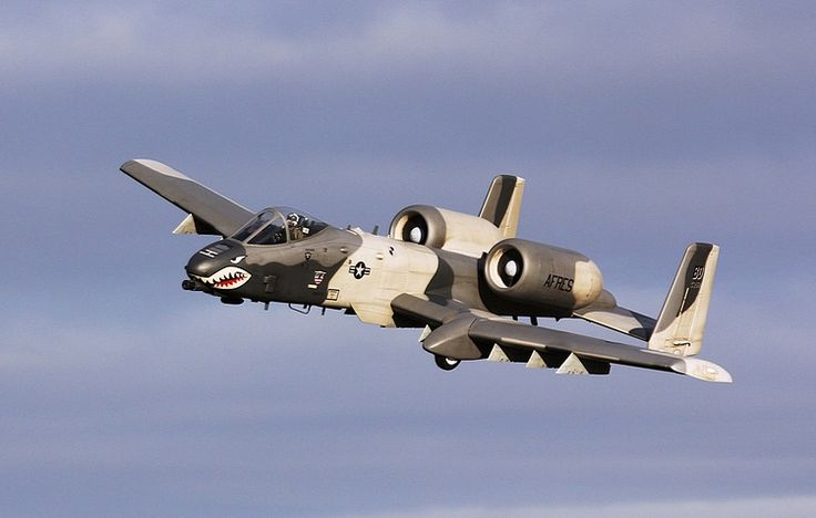 "The A-10 ""Warthog"" Thunderbolt II - Why isn't every A-10 painted with this scheme? Very effective."