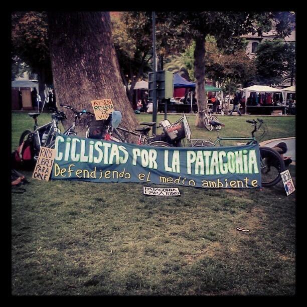 Ciclistas por la Patagonia