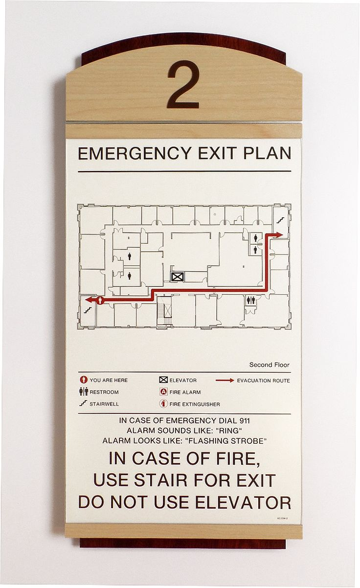 Best Evacuation Map Images On   Maps Cards And Signage