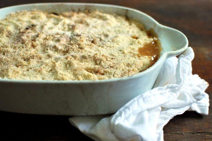 Zucchini crumble recipe on Food52