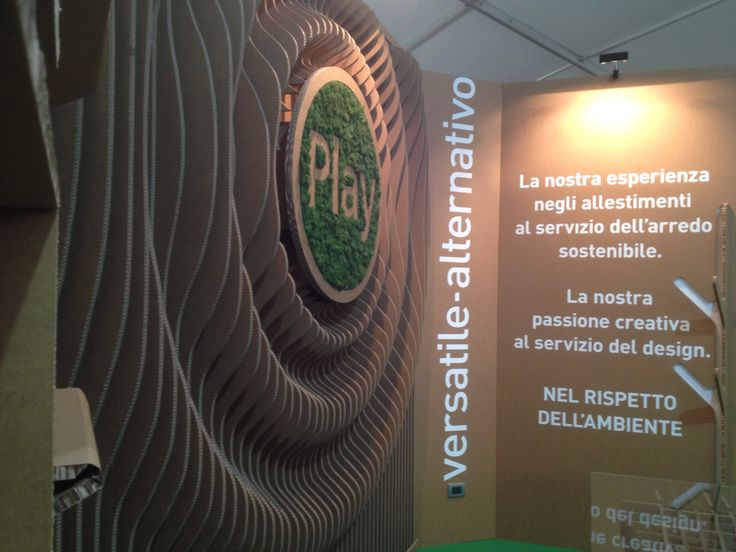 Stand Playadv - GFE 2014- #Cartboard #design #madeinitaly