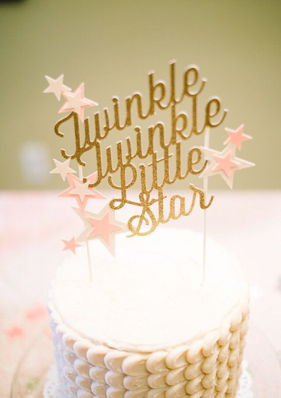 Twinkle twinkle little star Custom baby shower by ModernBlooms