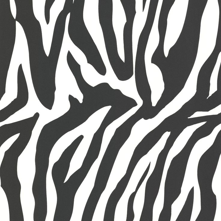 "Zinc 33' x 20.5"" Zebra Print 3D Embossed Wallpaper"