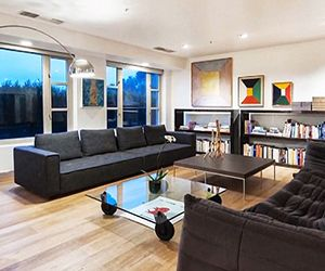 Tour Kendall Jenner's New $1.4 Million CondoHome Theater, Jenners, Kendall Jenner Apartment, Living Room,  Home Theatres, Room Ideas, Celebrities Interiors, La Apartments, Celebrities Home