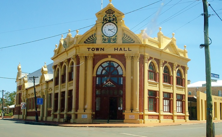 Town Hall, York, Western Australia by Jean-Paul Lauwereys