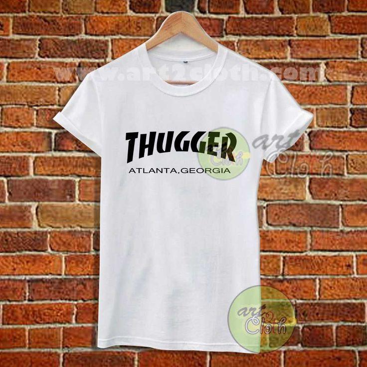Young Thug x Thrasher T Shirt //Price: $12 //     #FashionWomens