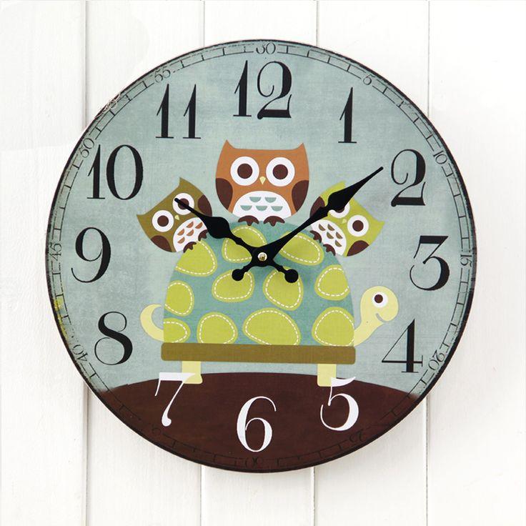 25 Best Cute Clock Images On Pinterest Cute Clock Wall