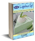 """Lighten up with our Mr. Food eBook, featuring our signature """"Quick & Easy"""" healthy recipes. #Cookbook"""