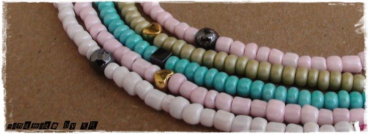 Summer mood...bracelet/necklace  #beads #summer #handmade #love #jewellery #bracelet #necklace