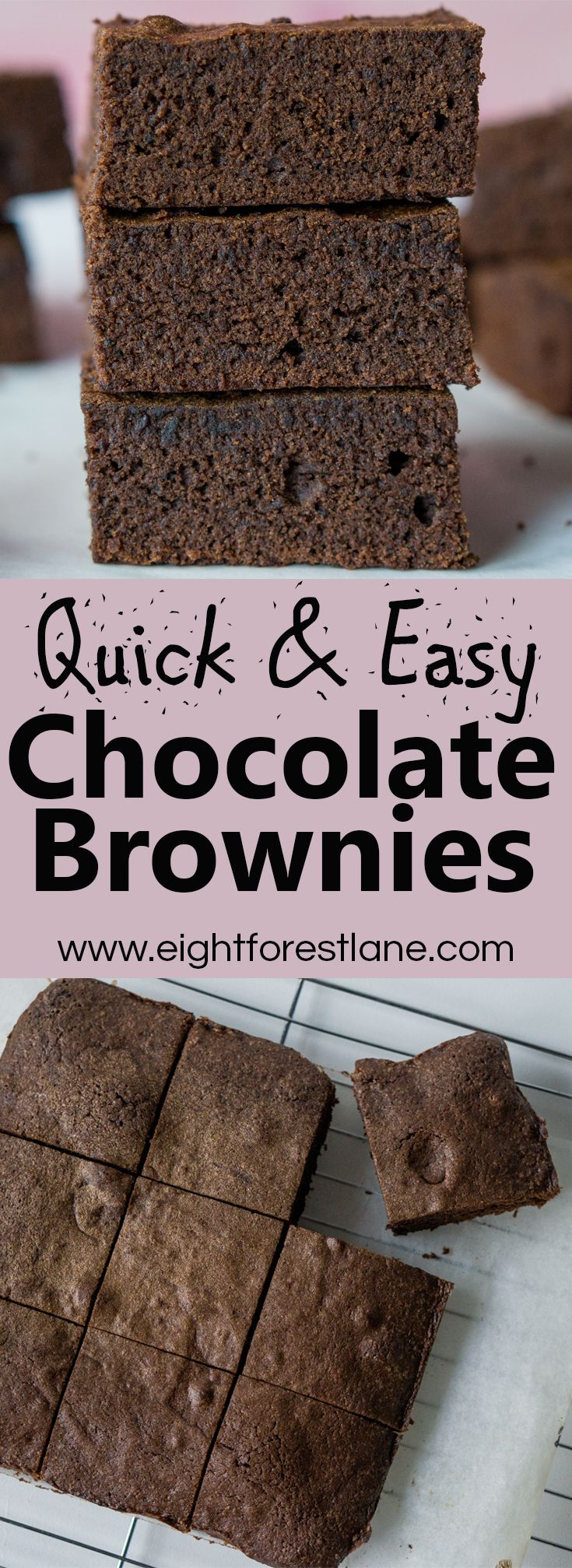 Quick & Easy Chocolate Brownies