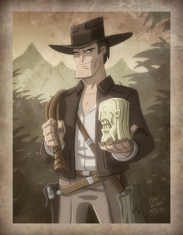 Indiana Jones by *OtisFrampton on deviantART