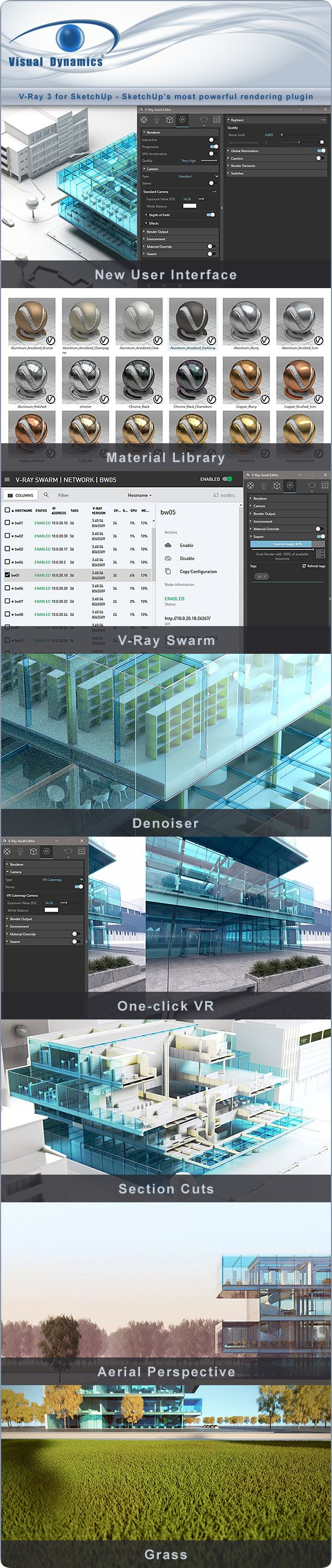 V-Ray 3 for SketchUp - SketchUp's most powerful rendering plugin