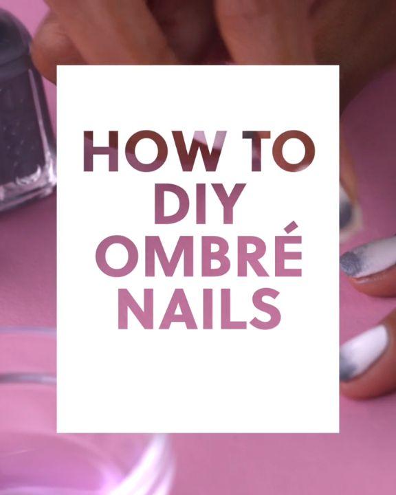 How to DIY Ombré Nails #blinkbeauty #nailart #nailarttutorial #ombrenails #nail…