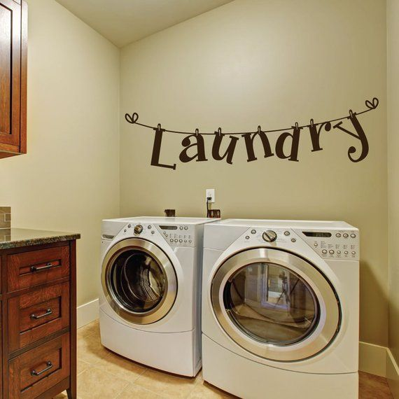 Laundry Room Wall Decals Laundry Room Decal Laundry Room Laundry Room Decals Wall Decals Laundry Laundry Room Wall Decor