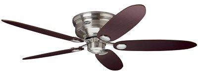 Ceiling Fan - Low Profile III Brushed Nickel Ceiling Fan