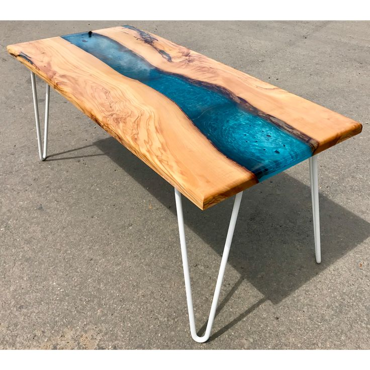 Furniture made of olive wood wood resin table wood