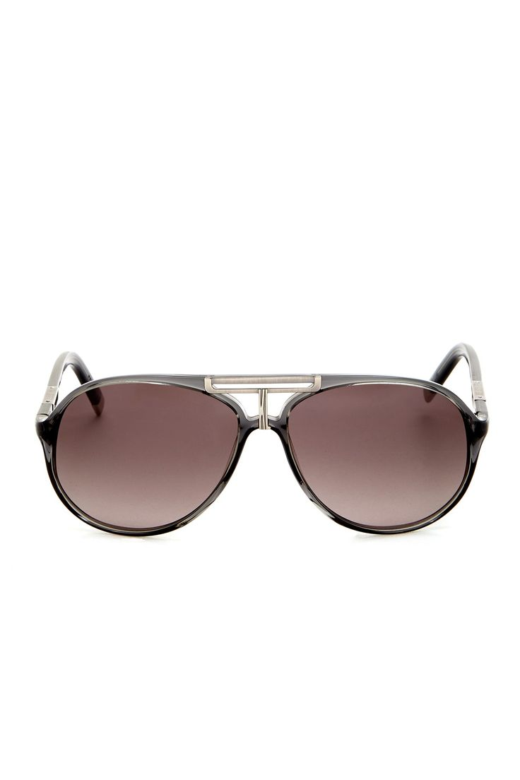 Aviator Sunglasses by Karl Lagerfeld Eyewear on @nordstrom_rack