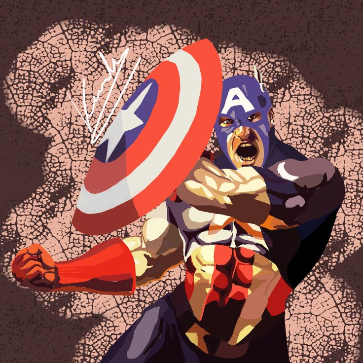 #Capitán #america #CapitanAmerica #CaptainAmerica  #Drawing #Painting #Draw #Paint #Art #Artistic #Picture #Graphics #Comic #Marvel