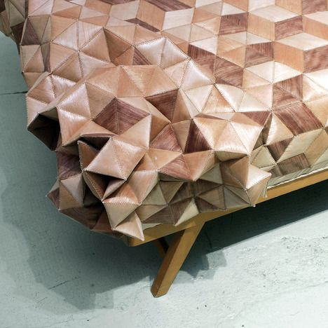 quilted wood daybed, elisa strozyk