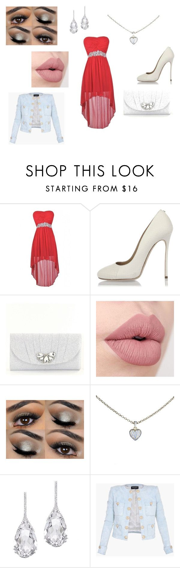 """""""Wedding"""" by heddastoltnielsen on Polyvore featuring Dsquared2, Kate Landry, Cartier, Plukka and Balmain"""