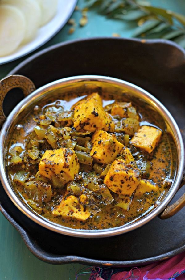 Paneer chettinad curry