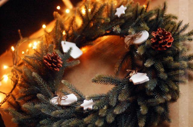 Tere fere kuku...: Wieniec bożonarodzeniowy DIY xmas wreath