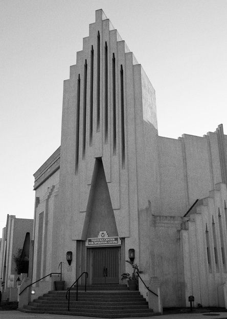 Ventura Center For Spiritual Living. In 1928 The Former First Baptist  Church Commissioned Noted Architect Robert Stacey Judd Known For His  Neo Mayan ...
