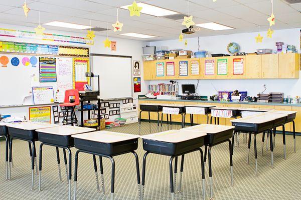 Horseshoe Classroom Design ~ Elementary school classroom layout th grade