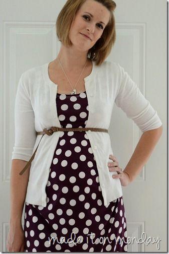 Maternity Maxi Dress pattern - amazing pattern blog