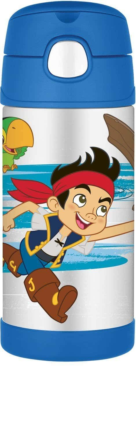 pirate kids thermos