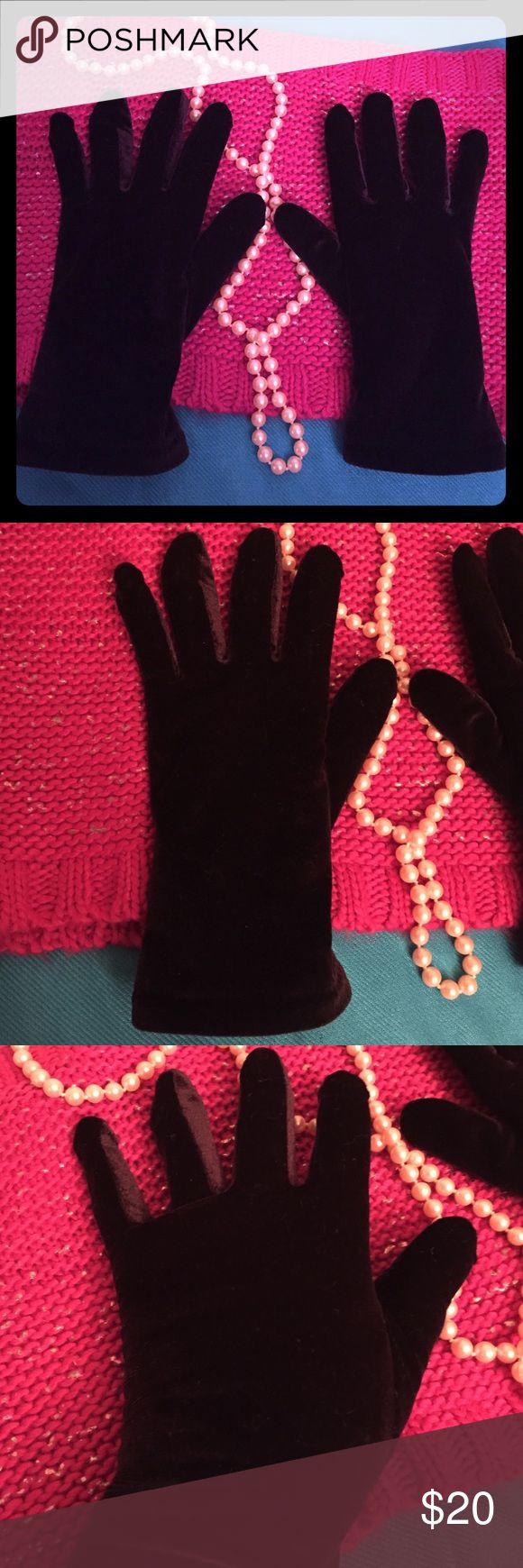 Leather work gloves screwfix - Black Velvet Gloves