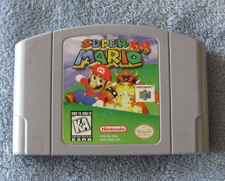 Nintendo 64 Game Super Mario 64