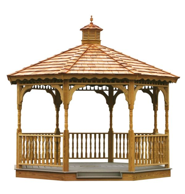 Gazebo, Wooden Gazebo, Amish Gazebos, Gazebo Kit http://gazebokings.com/cheap-wooden-gazebo-kits-for-sale-uk/