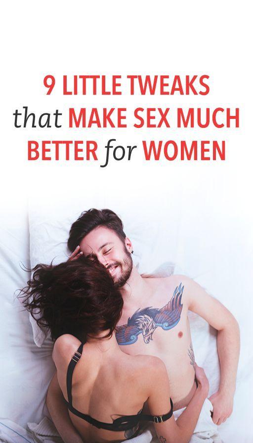 9 little tweaks that make sex much better for women