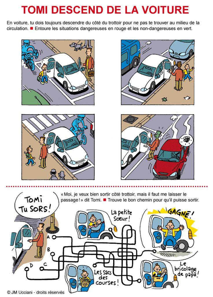 Super Les 46 meilleures images du tableau Sécurité routière sur  DA11