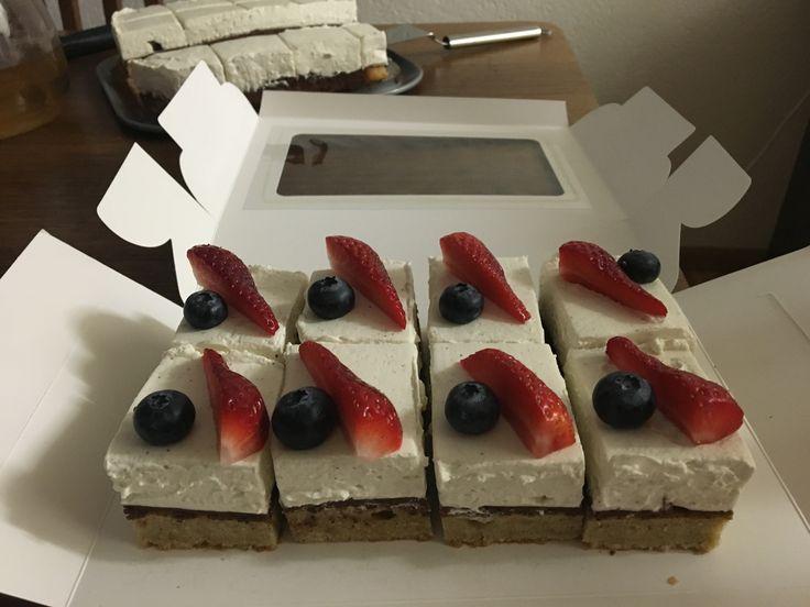 Glutenfreie Cakes mit Mascarpone