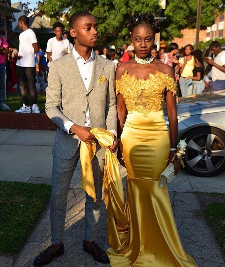 Black People Ball Dresses