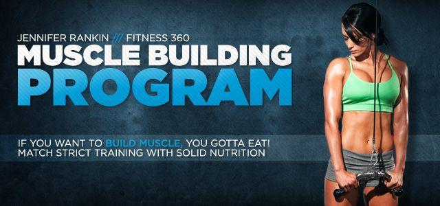 Jen Rankin's Muscle Building Program - Bodybuilding.com