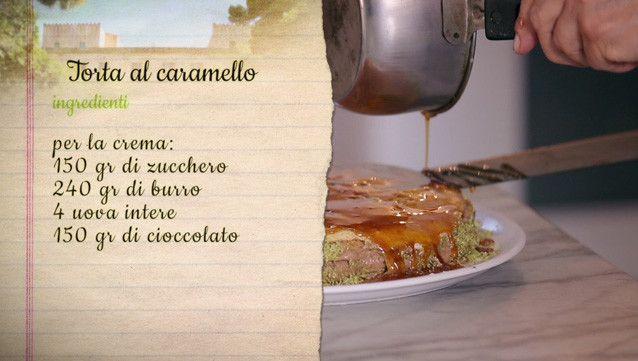 Torta al caramello | Ricette | Simonetta Agnello Hornby | Il pranzo di Mosè…