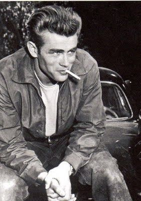 "James Dean. ""If a man can bridge the gap between life and death, if he can live on after he's dead, then maybe he was a great man."""
