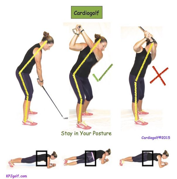 Maintain Your Angles in Your Golf Swing-Don't Stand Up! | KPJ Golf #lorisgolfshoppe