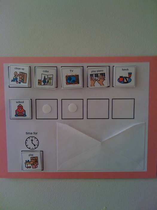 I Love ABA!: Creating Order in The Home: Daily Schedules