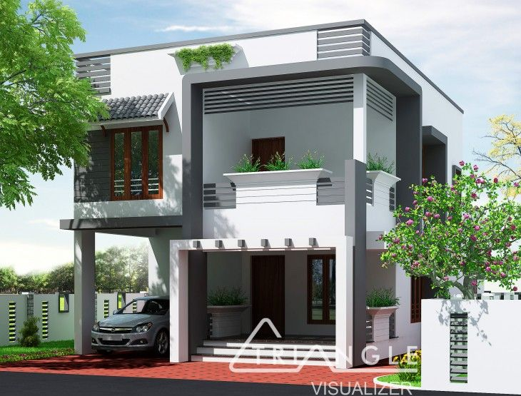 Groovy 3 Bedroom Budget Home Design By Triangle Visualizer Team Beutiful Home Inspiration Aditmahrainfo